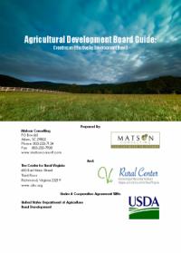 """Agricultural Development Board Guide"""