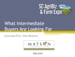 What Intermediate Food Buyers Are Looking For (6)